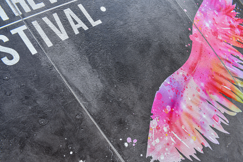 WR Festival_Vintage Beton Logo druck